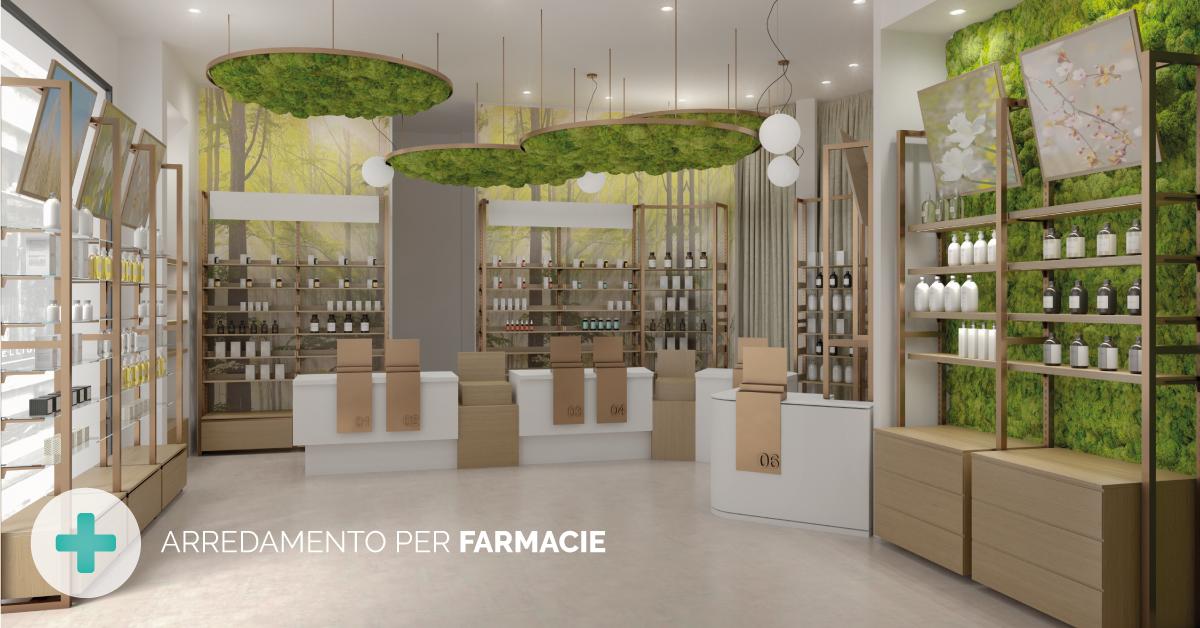 Progettazione ed arredamento farmacie in tutta italia by for Arredamenti farmacie